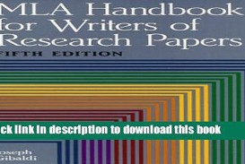 005 Mla Handbook For Writing Research Papers Paper X1080 Frightening Writers Of 8th Edition Pdf Free Download According To The