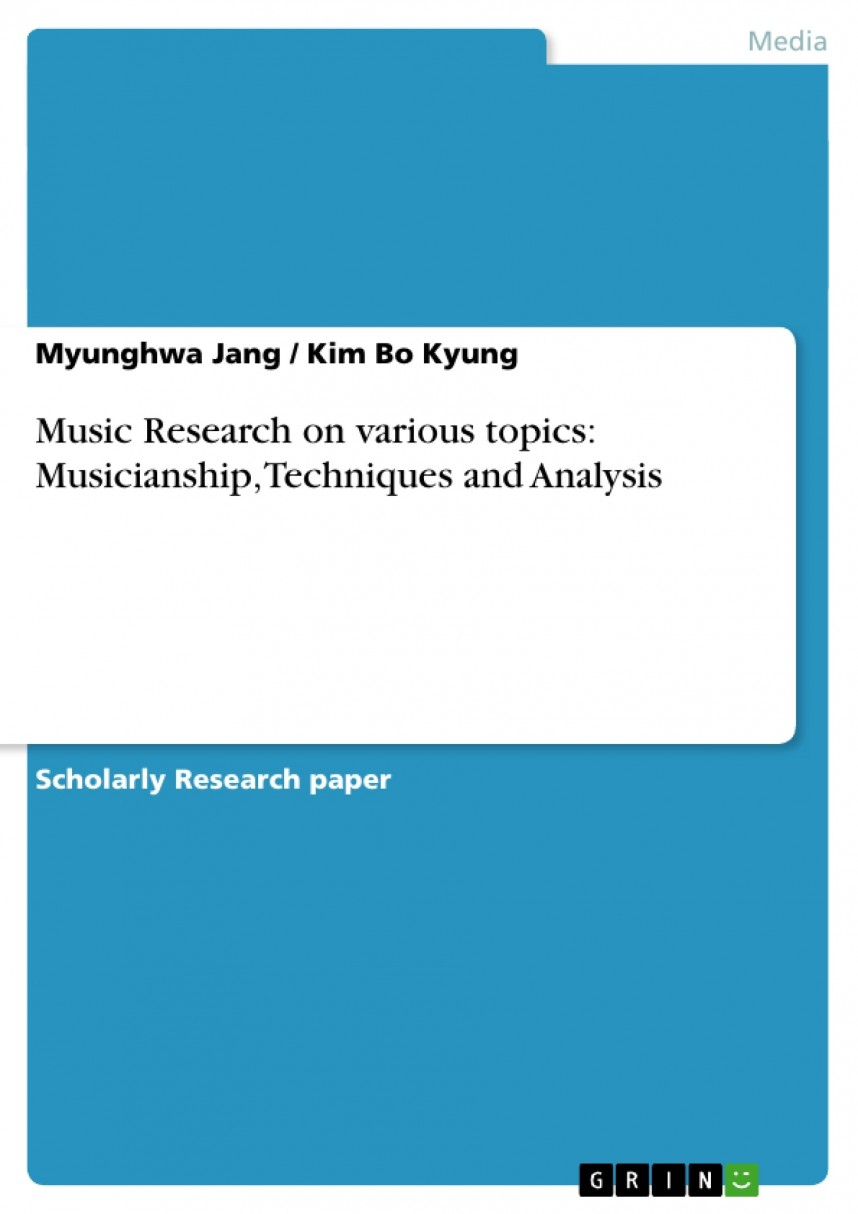 005 Music Research Paper Topics 208216 0 Impressive History Industry Education