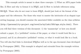 005 Page 3 Apa Style Research Paper Methods Archaicawful Section