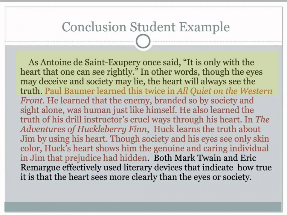 005 Perfect Conclusion For Research Paper Rare A 960