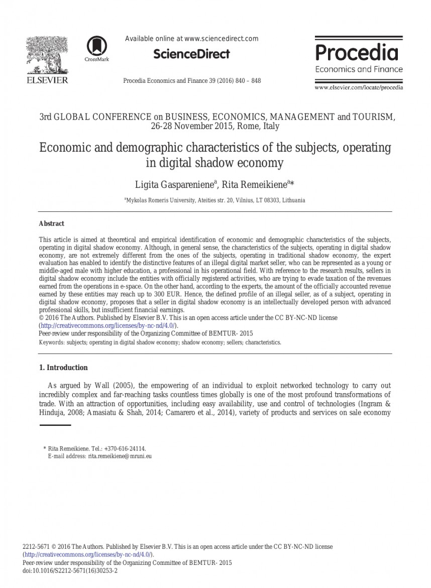 005 Research Paper Remarkable Economy Cashless Cash To Digital