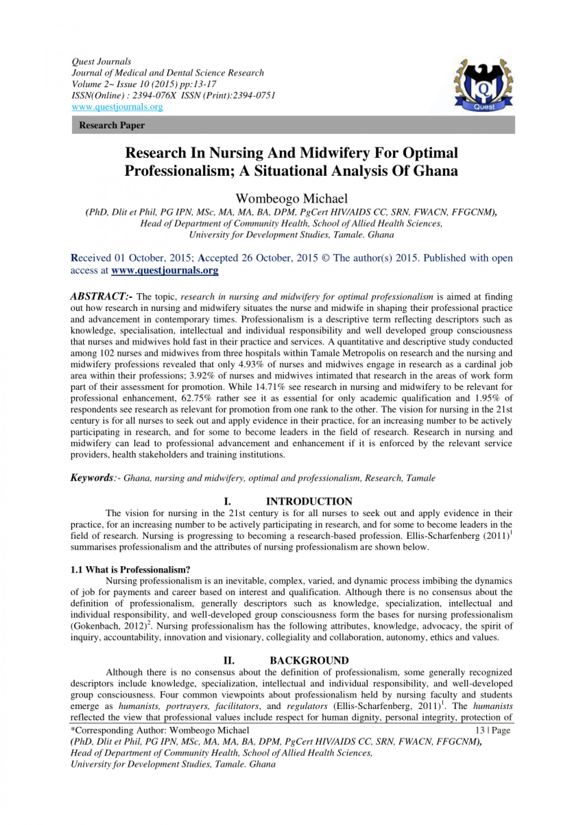 005 Research Paper About Nursing Unforgettable Career Sample Related To Topics 1920