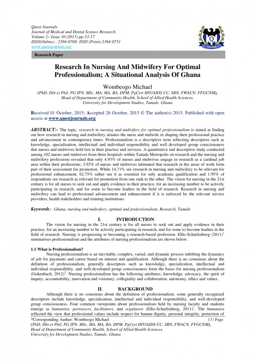 005 Research Paper About Nursing Unforgettable Title For On Shortage Home Abuse And Neglect