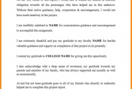 005 Research Paper Acknowledgement Example For Pdf In Project Beautiful