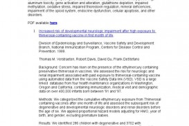 005 Research Paper Autism Phenomenal On And Early Intervention Pdf Example About