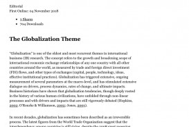 005 Research Paper Business Topics For Globalization Magnificent