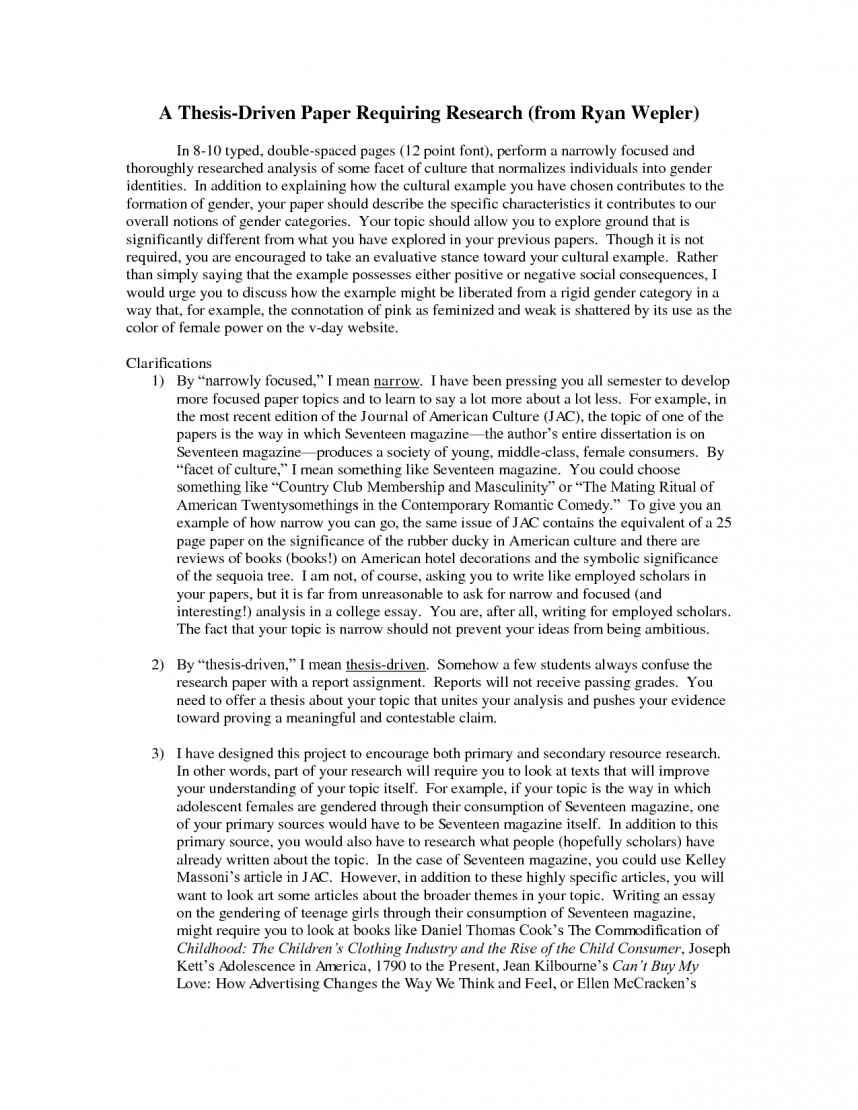 005 Research Paper Childhood Obesity Thesis Sample Academic Amazing Statement