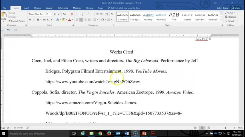 005 Research Paper Citations For Mla Astounding Format Citing