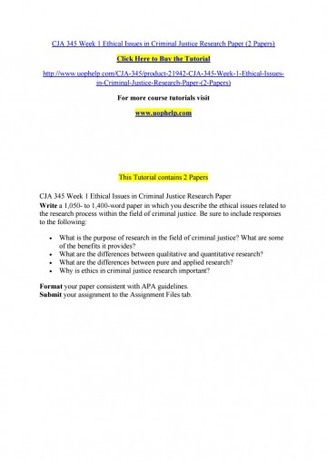 005 Research Paper Criminal Justice Papers Page 1 Formidable Free Sample 360