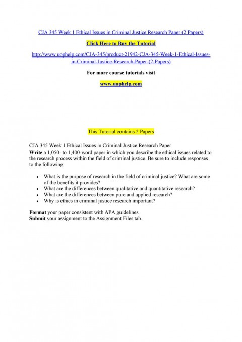 005 Research Paper Criminal Justice Papers Page 1 Formidable Free Sample 480