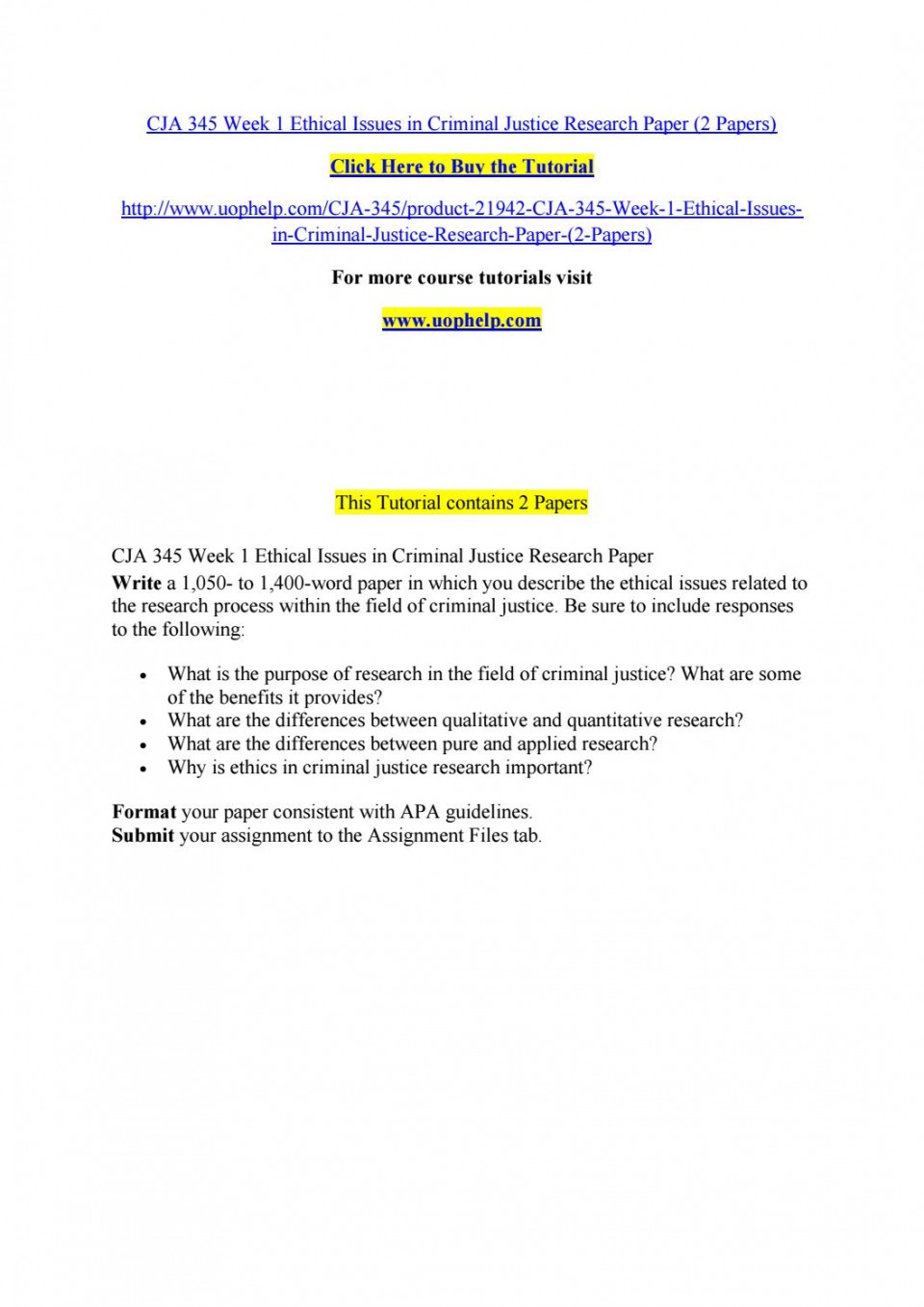 005 Research Paper Criminal Justice Papers Page 1 Formidable Free Sample 960