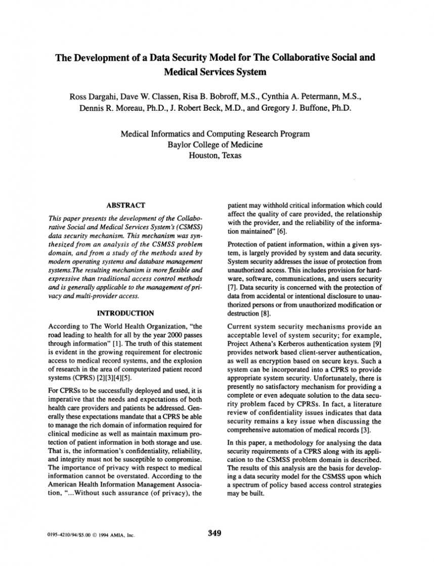 005 Research Paper Database Security Abstract Fascinating
