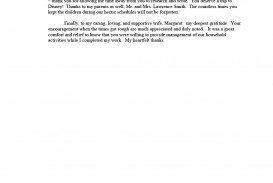 005 Research Paper Example Of Acknowledgement In Group Sample Top Pdf