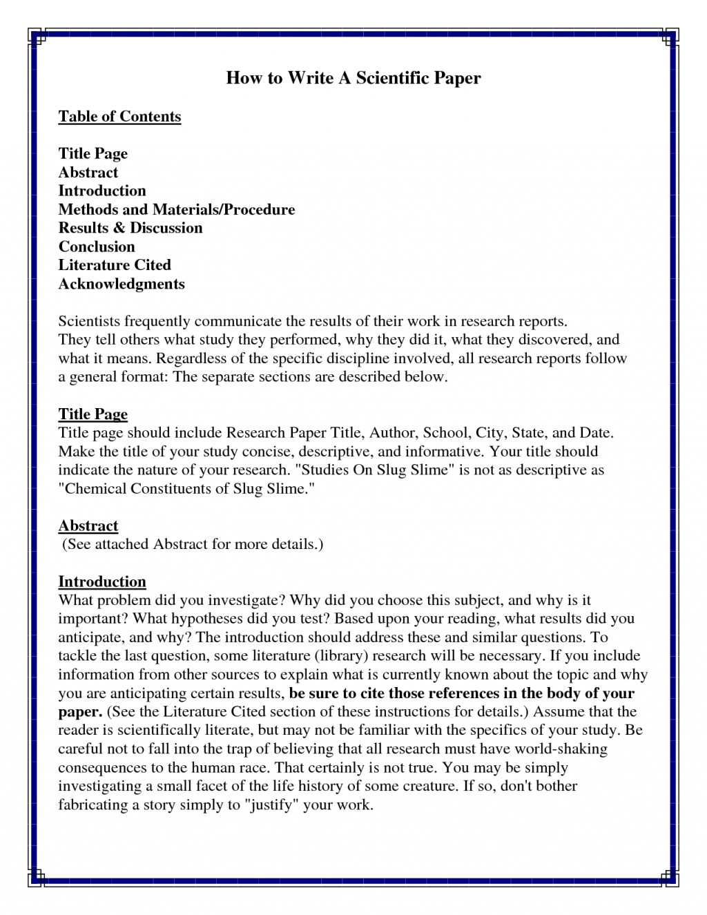 005 Research Paper Good Introductions To Papers Stupendous Great For Examples Pdf Large