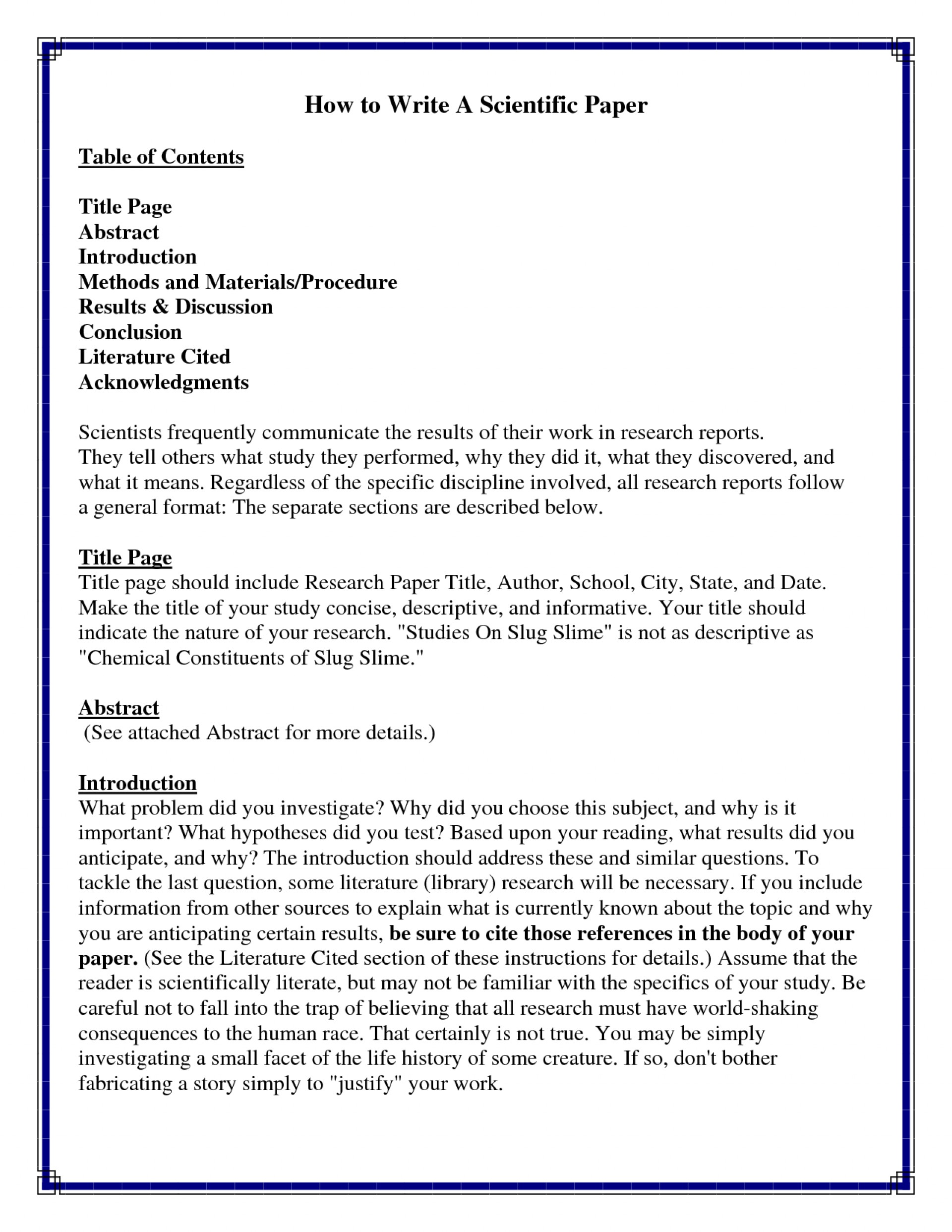 005 Research Paper Good Introductions To Papers Stupendous Great For Examples Pdf 1920