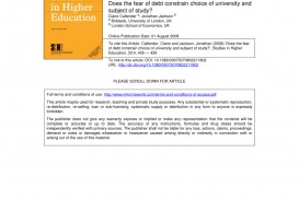 005 Research Paper Higher Education Pdf Amazing