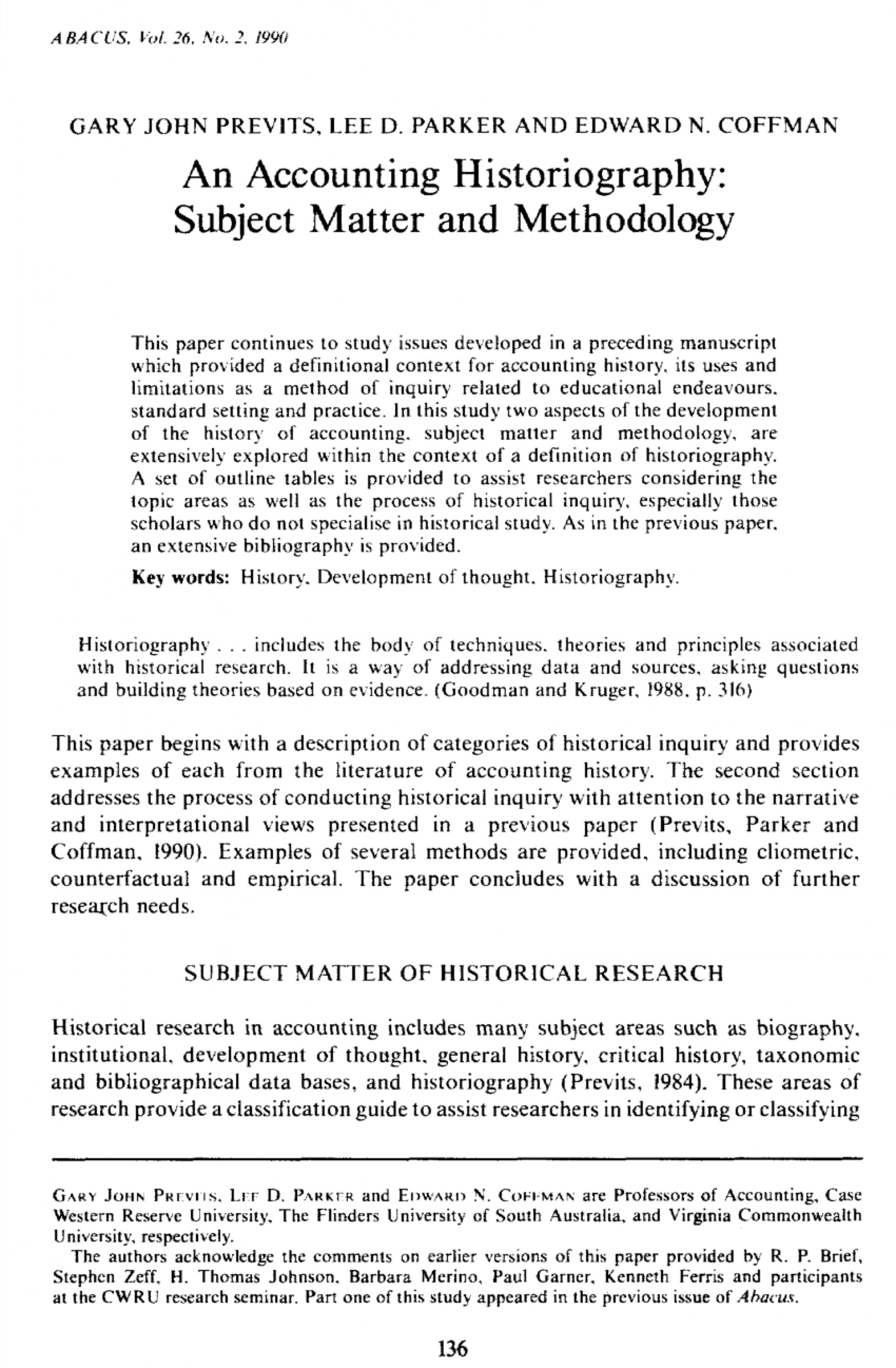 005 Research Paper History Papers Examples ~ Museumlegs