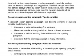 005 Research Paper How To Start Paragraph Stirring A New In Your Introduction On An Opening