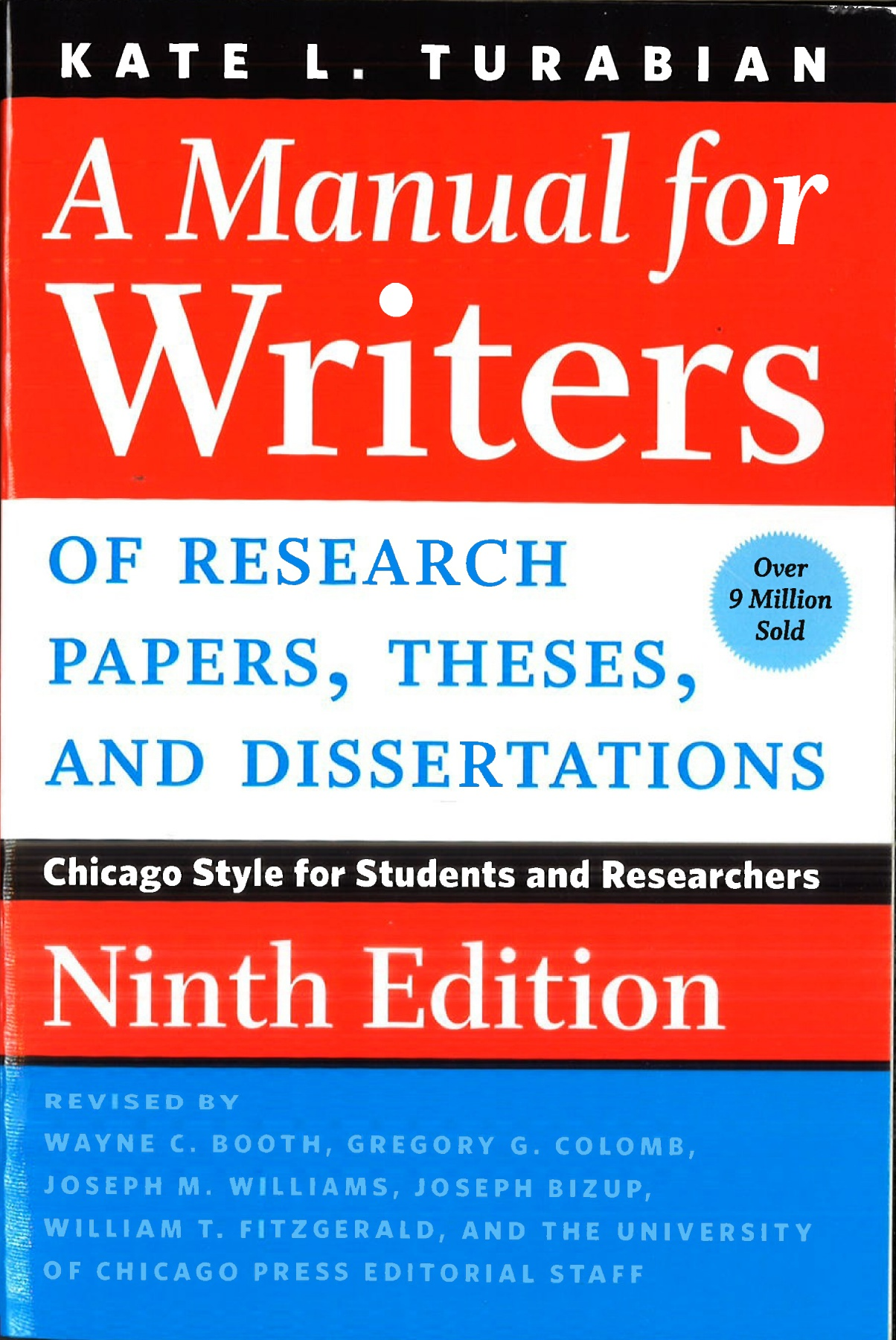 005 Research Paper Manual For Writers Of Papers Theses And Dissertations 9th Frightening A Edition Pdf Full