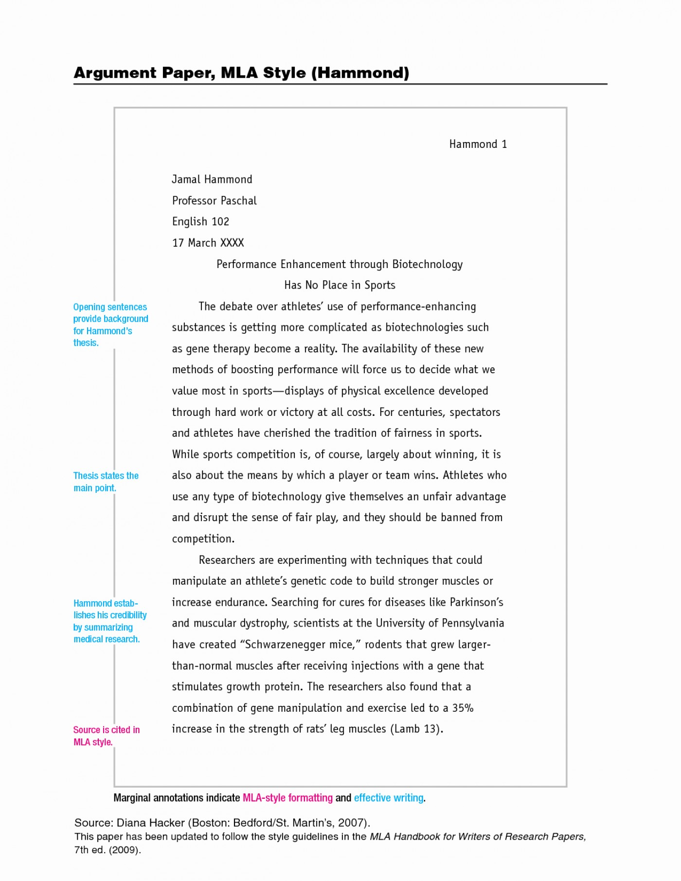 005 Research Paper Mla Style Format Best Of Sample Pages In Beautiful Order A Example Proposal Examples 1400
