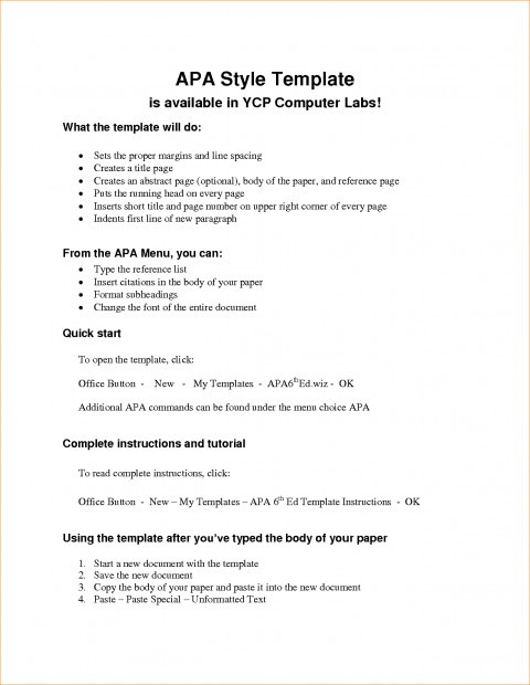 005 Research Paper Outline Template Apa Sample Of An Wonderful A Style Example Apa-style 480