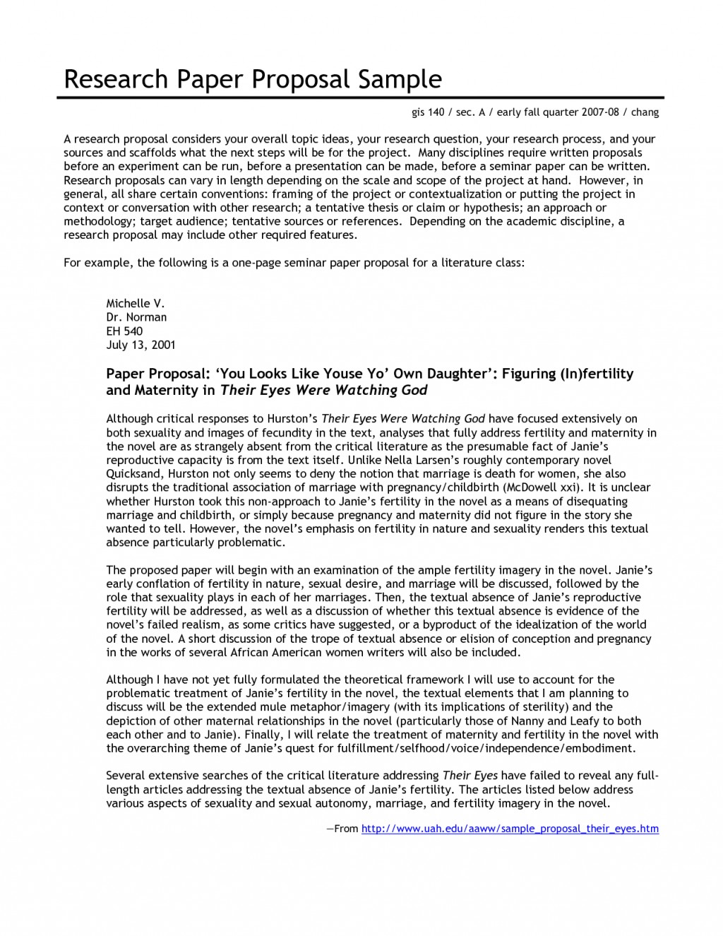 005 Research Paper Proposal 343597 Literature Outstanding Example Large