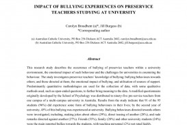 005 Research Paper Psychological Effects Of Bullying Breathtaking 320