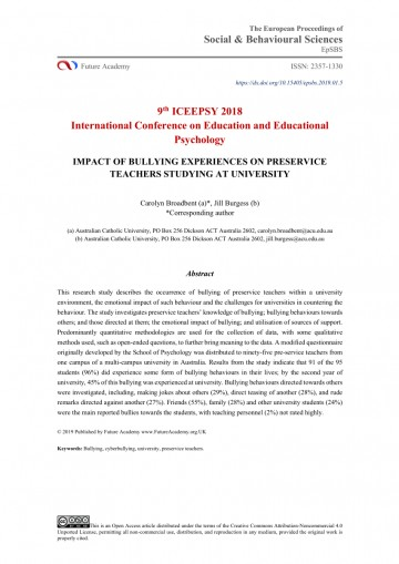 005 Research Paper Psychological Effects Of Bullying Breathtaking 360