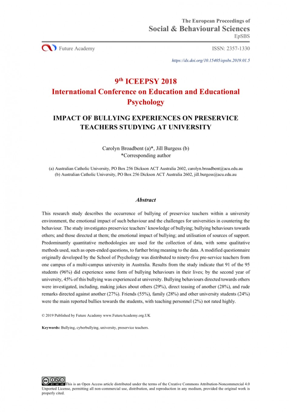 005 Research Paper Psychological Effects Of Bullying Breathtaking 960