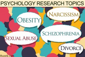 005 Research Paper Psychology Topics Argumentative Fearsome For