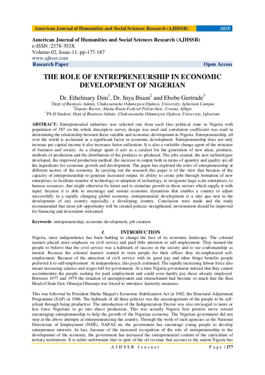 005 Research Paper V18211177187 Thumbnail Economic Development Unusual Papers Growth Pdf