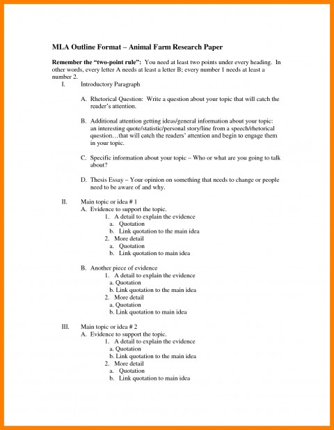 005 Research Paperne Bunch Ideas Of Mla Example Brilliant Best Paper Outline Template Pdf 480