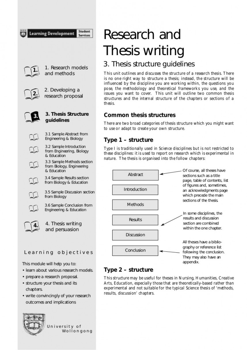 005 Researchtheseswriting Phpapp01 Thumbnail How To Write The Results Section Of Qualitative Research Formidable A Paper