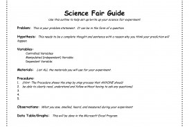 005 Science Fair Research Stunning Paper Background Sample Rubric