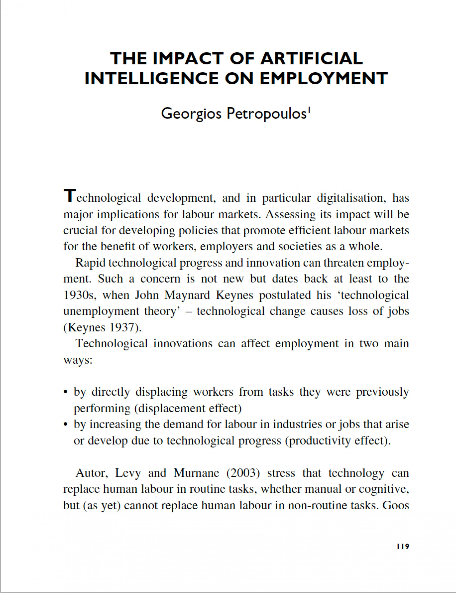 005 Screen Shot At Artificial Intelligence Research Sensational Paper 2018 Topics Pdf 1920
