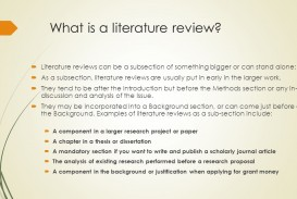 005 Slide 3 Define Literature Review In Research Remarkable Paper Definition Of What Is Pdf