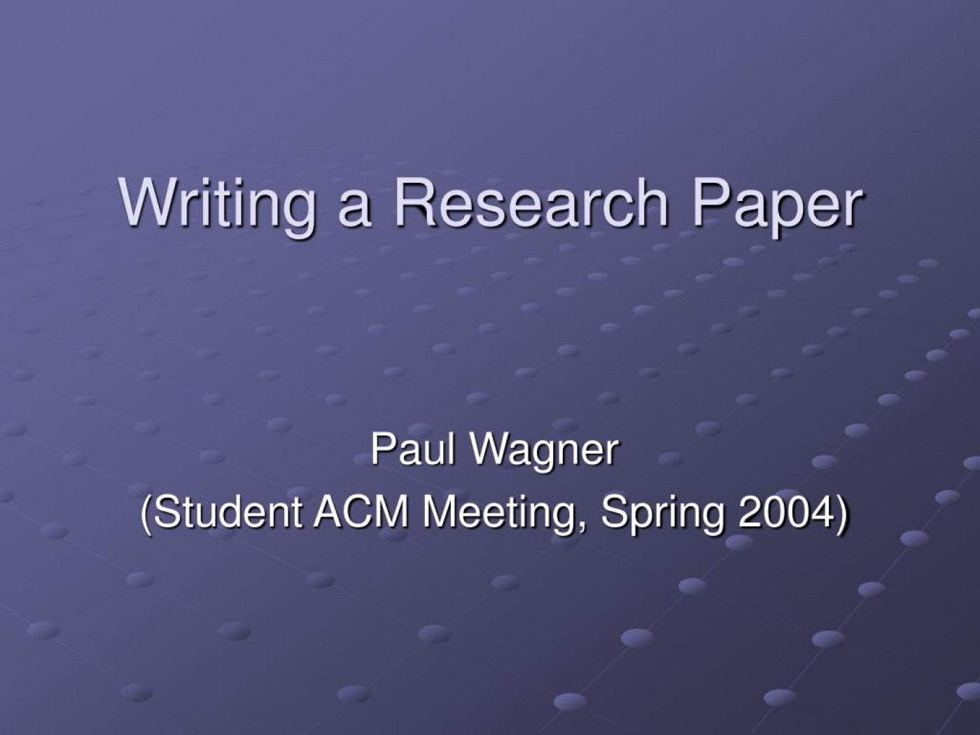 005 Writing Research Paper L How To Write Powerpoint Awesome A Presentation 1400