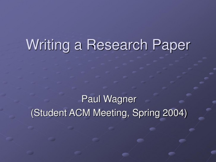 005 Writing Research Paper L How To Write Powerpoint Awesome A Presentation 728