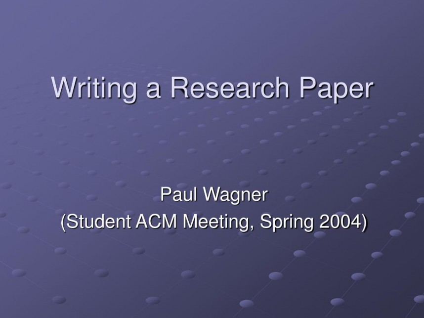 005 Writing Research Paper L How To Write Powerpoint Awesome A Presentation 868