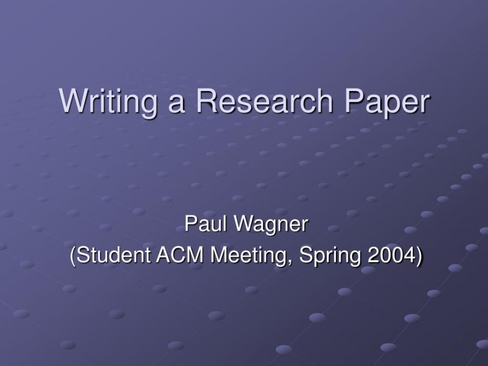 005 Writing Research Paper L How To Write Powerpoint Awesome A Presentation 960