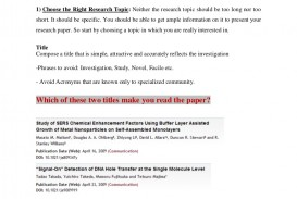 006 10stepstowriteabasicresearchpaper Thumbnail Research Paper How To Sensational Start Write Presentation Way Writing 320