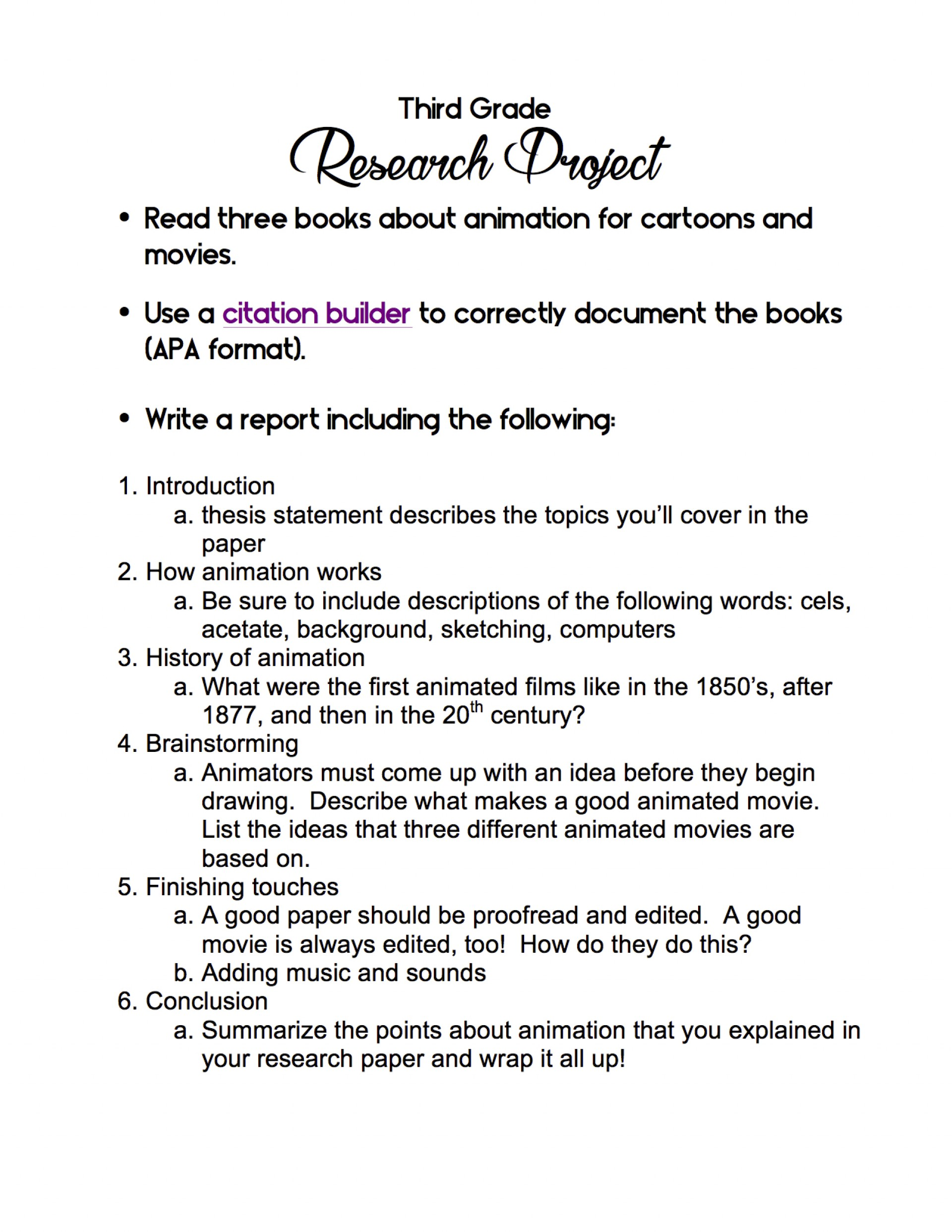 006 3rd Grade Research Project Paper Cancer Topic Archaicawful Ideas Breast 1920