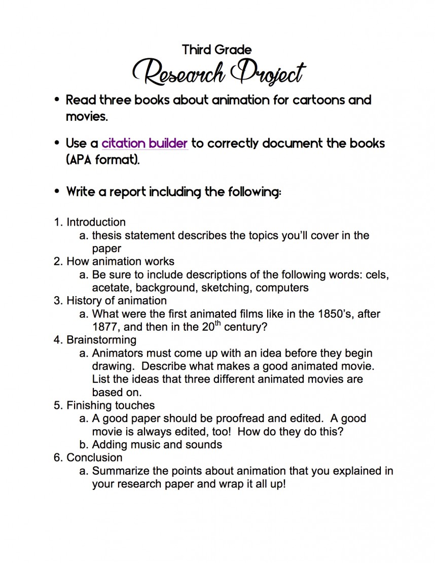 006 3rd Grade Research Project Paper Cancer Topic Archaicawful Ideas Breast