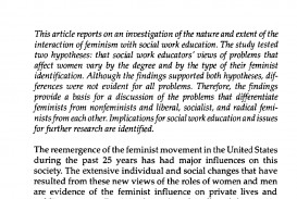 006 Against Feminism Research Paper Awful