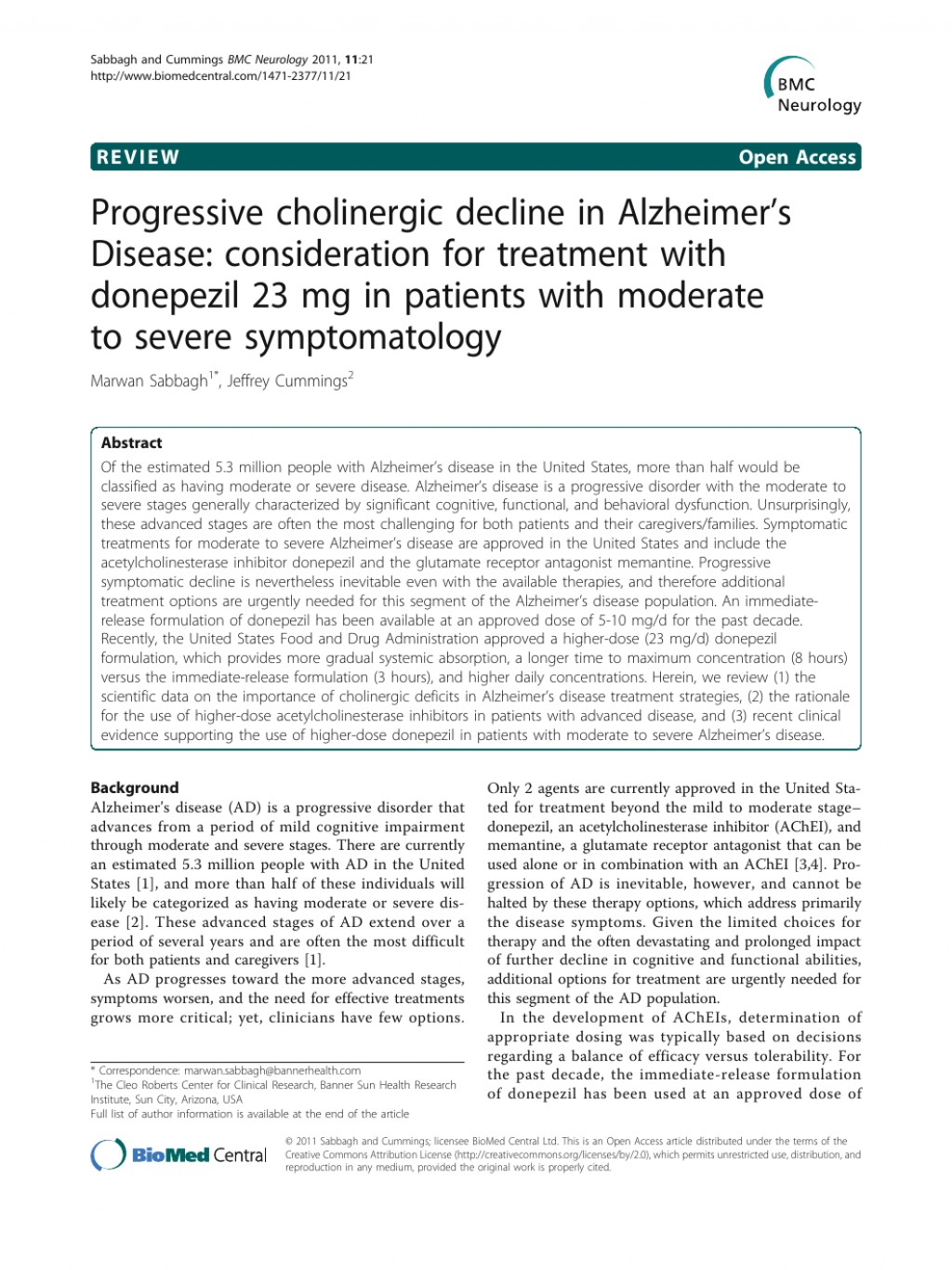 006 Alzheimers Disease Research Paper Pdf Singular Alzheimer's Large