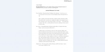 006 Annotated Bibliography Example Mla Research Imposing Paper Proposal And 360