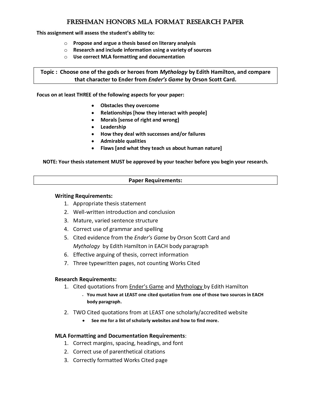After High School Essay  Example Of A Thesis Statement For An Essay also Essay On How To Start A Business  Annotated Bibliography Template Mla Inspirational How To  Persuasive Essay Examples For High School