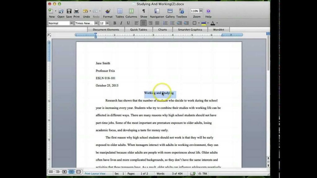 006 Argumentative Research Paper Example Mla Marvelous Large
