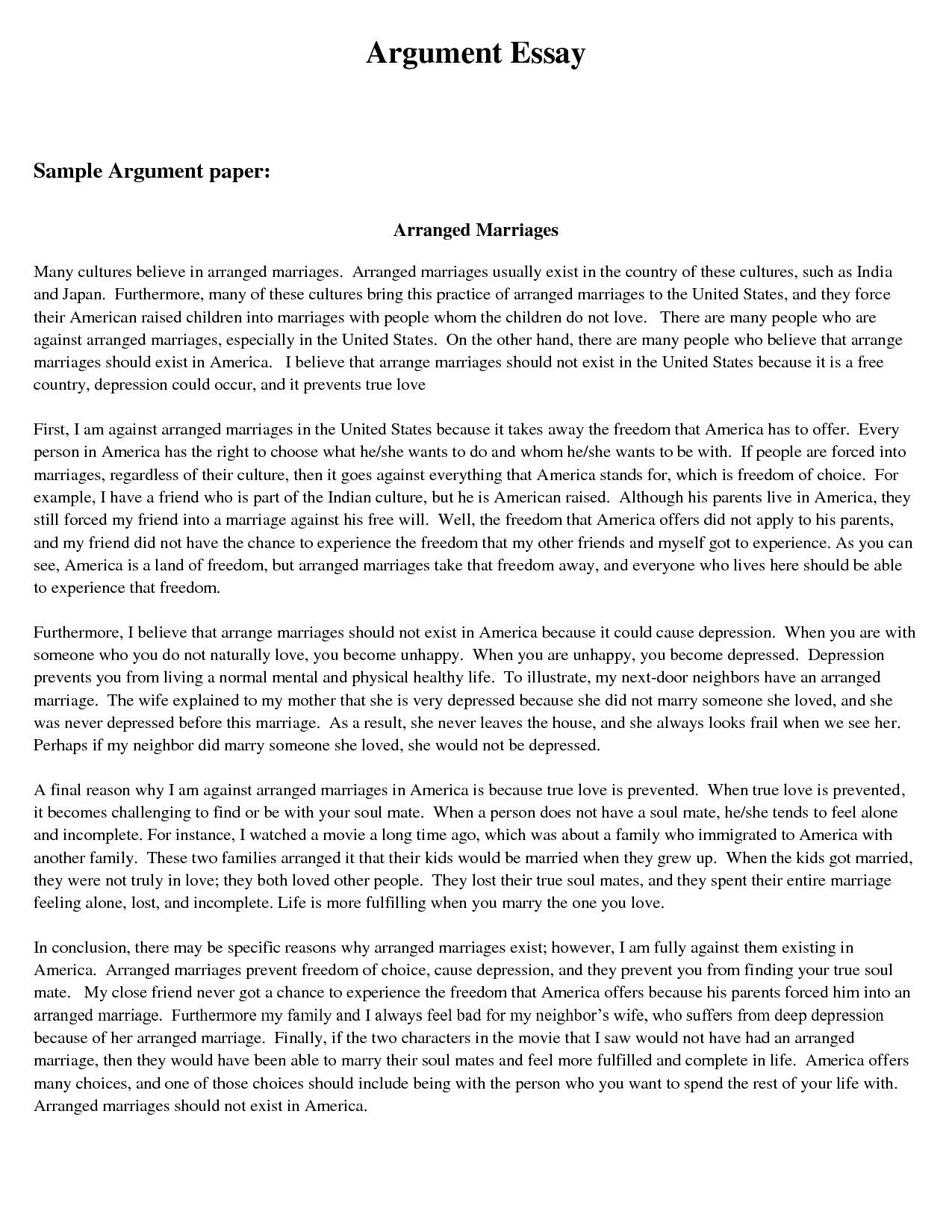 006 Argumentative Research Paper Introduction Archaicawful Sample Of Full