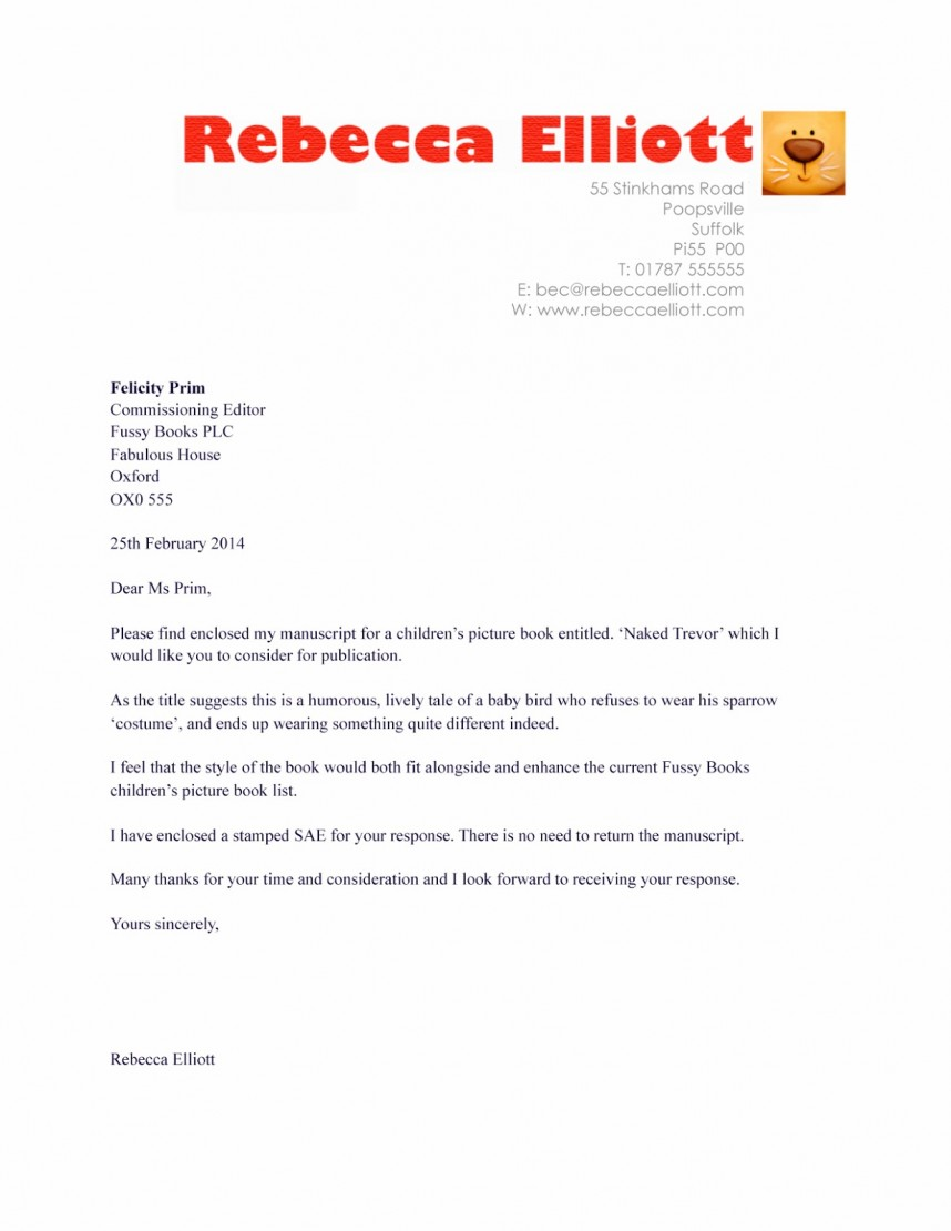 006 Book20submission Research Paper Cover Letter For Article Singular Publication Sample Manuscript